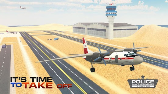 Jail Prisoner Transport Flight APK for Bluestacks