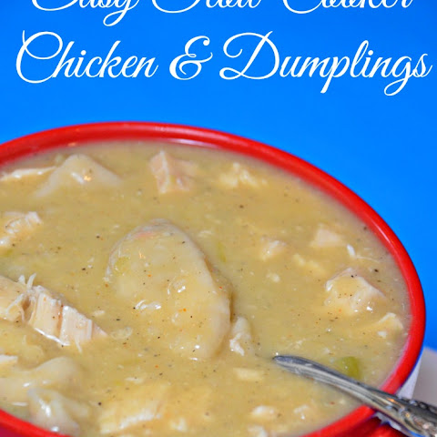 Crock-Pot Chicken N Dumplings