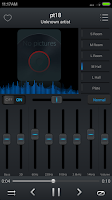 Screenshot of Equalizer Music Player