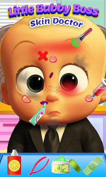 Little Baby Boss Skin Doctor NEW apk screenshot