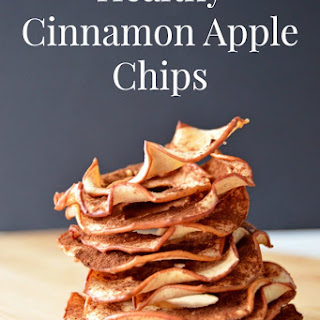 Healthy Cinnamon Apple Chips