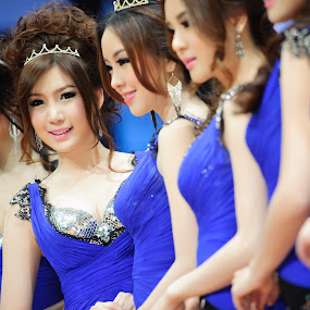 Thailand Motor Expo 2012 by Milk Pocky - People Group/Corporate