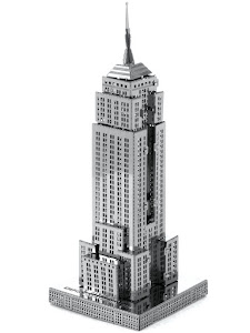 """Сборная модель """"3D Metal Puzzle"""" Небоскреб """"Empire State Building"""" L"""