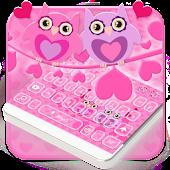 App Owl Keyboard - Pink Love Theme APK for Windows Phone