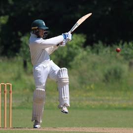 by John Davies - Sports & Fitness Cricket ( gloucestershire university, tamron sp 150-600mm f/5-6.3 vc usd, pontardawe cc, cricket, jd photography, swansea university, canon eos 7d mk2, university cricket )