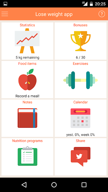 Lose weight without dieting screenshots