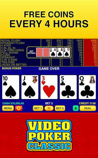 Video Poker Classic - screenshot