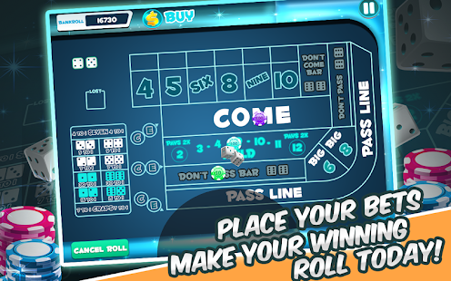Oh Craps! Dice Shoot and Roll - screenshot
