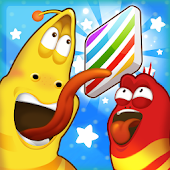 Game Larva CandyJump apk for kindle fire