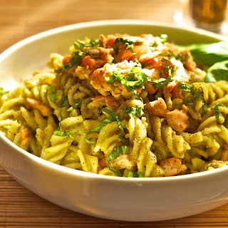 Salmon Pesto Pasta Recipes