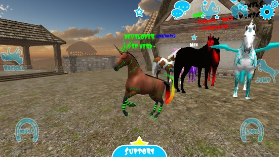 Hill Cliff Horse - Online APK for Bluestacks