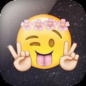 Emoji wallpapers APK for Bluestacks