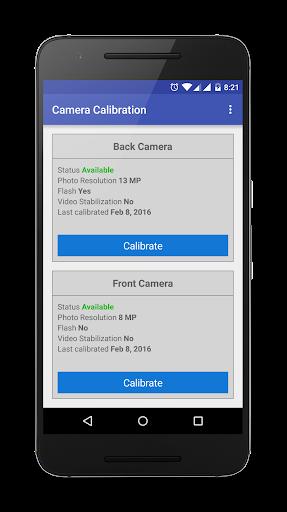 Camera Calibration Pro - screenshot