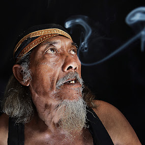 by Achmad Syamsu Hidayat - People Portraits of Men