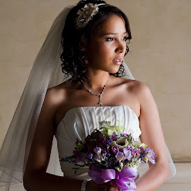 Amanda. by Gavin Smith - Wedding Bride ( wedding, wedding dress, beauty, flowers, bride )