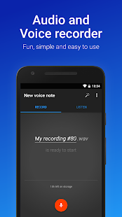 Easy Voice Recorder Pro Screenshot