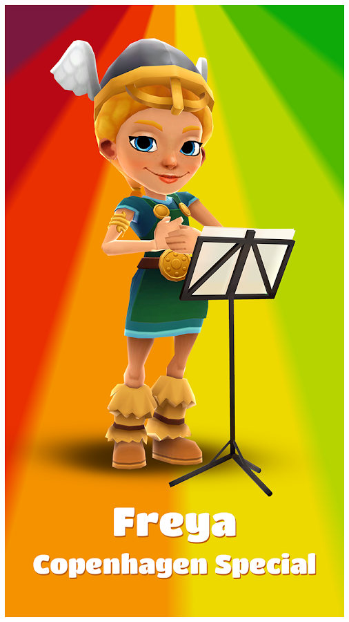 Subway Surfers: captura de tela