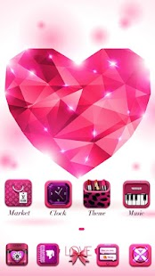 My Love GO Launcher Theme