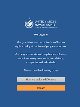 UN Human Rights APK screenshot thumbnail 6