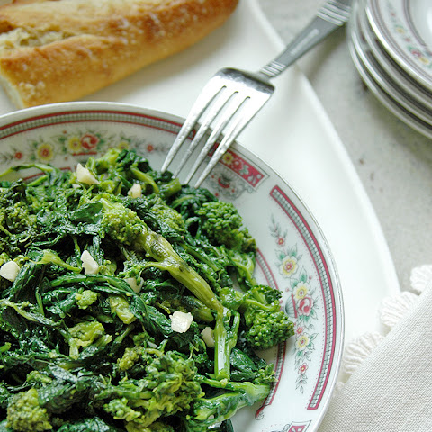 Rapini with Garlic