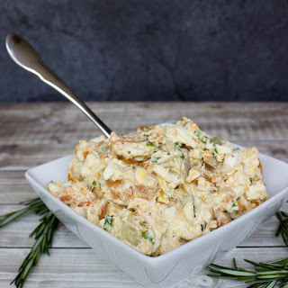 Rosemary Roasted Sweet Potato Salad