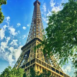 Eiffel Tower by Arjay Jimenez - Instagram & Mobile iPhone