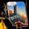 Train driving. Build railro
