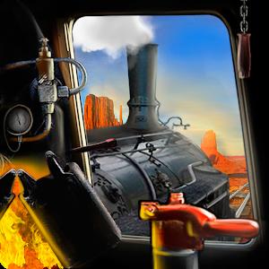 Cover art Train driving. Build railro