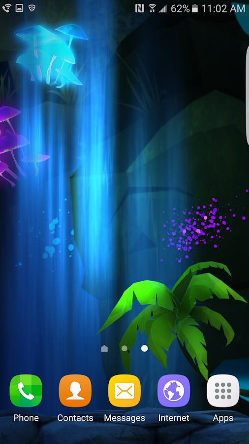 Glowing Jungle Live Wallpaper Screenshot 4