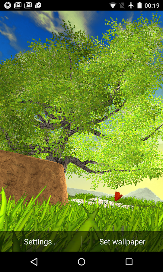 Nature Tree Live Wallpaper Screenshot 19