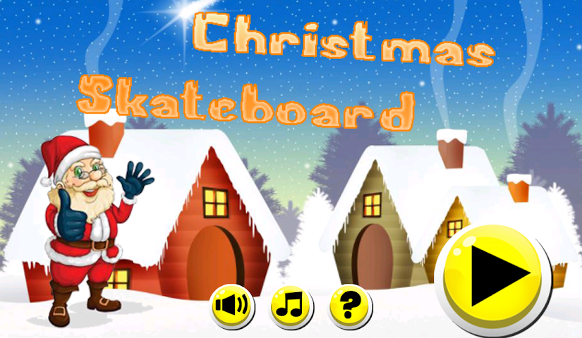 android Christmas Skateboard Screenshot 0