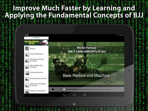 BJJ Core Concepts - screenshot