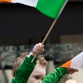 St. Patrick's Day by VAM Photography - Babies & Children Children Candids ( child, holiday, parade, nyc, celebration, st. patricks day,  )
