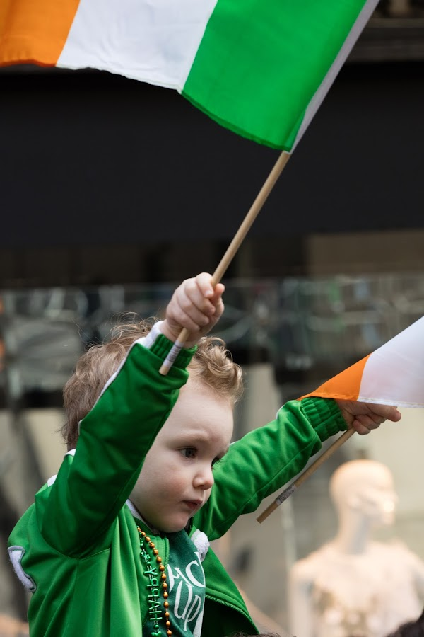 St. Patrick's Day by VAM Photography - Babies & Children Children Candids ( child, holiday, parade, nyc, celebration, st. patricks day,  )
