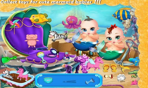 Princess Mermaid Family - screenshot