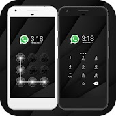 Cool Black CM Security Theme