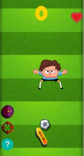 Nutmeg Life soccer game - screenshot