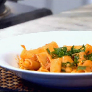 Rigatoni with Chorizo