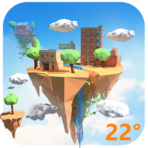 3D Real-time Weather of Island