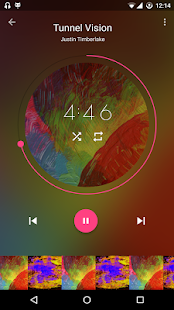 Timber Music Player (Beta) Screenshot