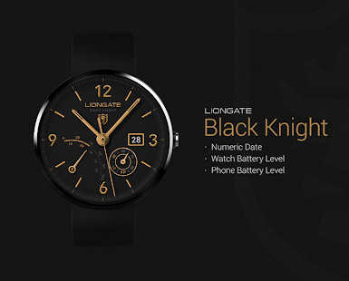 Black Knight watchface by Lion - screenshot