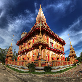 Wat Chalong by Sharulfizam Adam - Buildings & Architecture Other Exteriors