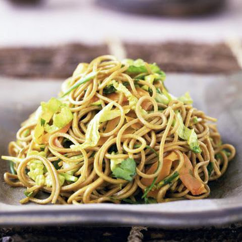 How to Make Japanese Fried Noodles with Meat and Vegetables