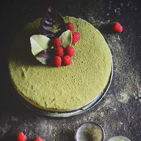Matcha Chocolate Mousse Cake