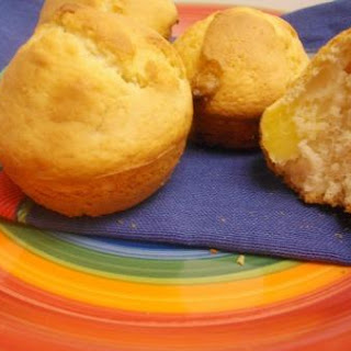 White Chocolate Pineapple Muffins