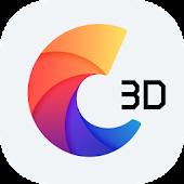 C Launcher 3D - Android Theme, Live Wallpaper
