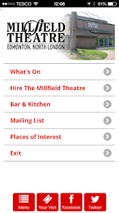 Millfield Theatre - screenshot