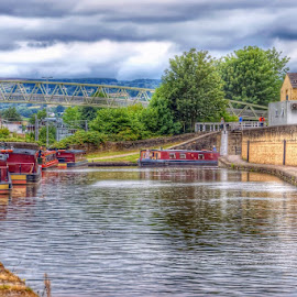 by Betty Taylor - City,  Street & Park  Vistas ( waterways, canals, hdr, boats )