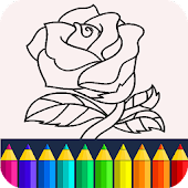 Download Valentines love coloring book APK to PC