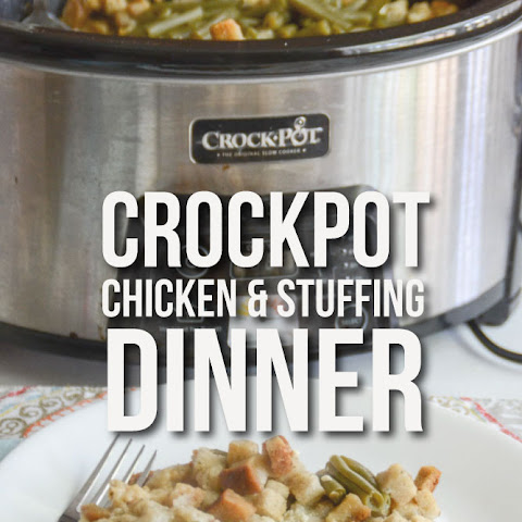 Crockpot Chicken & Stuffing Dinner